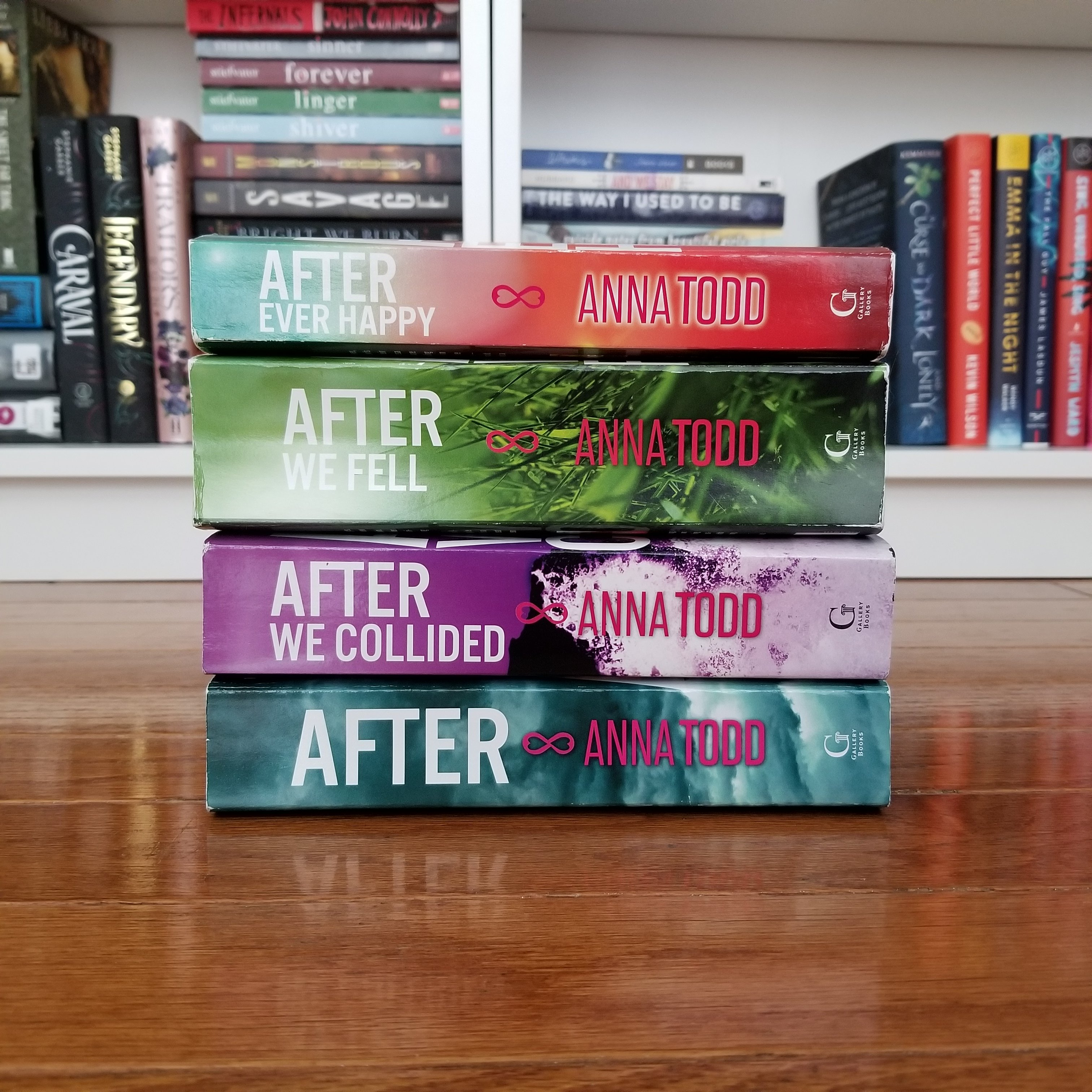 Mini Book Reviews After Series By Anna Todd Bee The Booknerd
